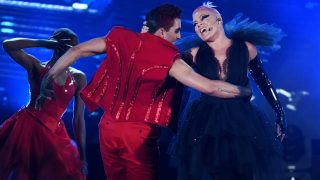 LAS VEGAS, NV - MAY 22: Recording artist Pink performs onstage during the 2016 Billboard Music Awards at T-Mobile Arena on May 22, 2016 in Las Vegas, Nevada.   Kevin Winter/Getty Images/AFP