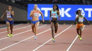Dafne Schippers (NED) win the gold medal in 200 Metres Women during the Athletics World Championships 2017, at Olympic Stadium, in London, United Kingdom, Day 8, on August 11th, 2017 - Photo Julien Crosnier / KMSP / DPPI