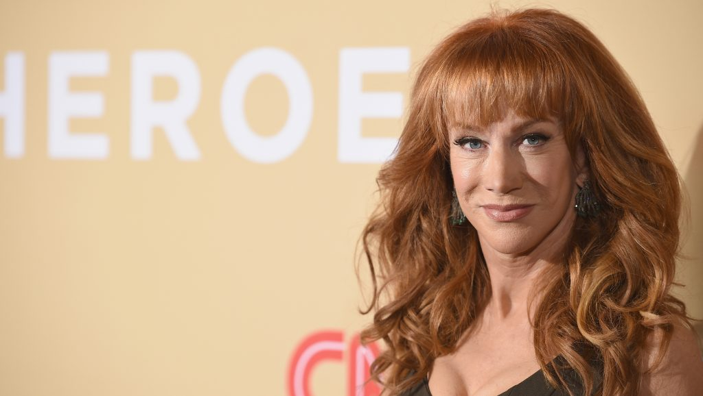 NEW YORK, NY - NOVEMBER 17:  Comedian Kathy Griffin attends CNN Heroes 2015 - Red Carpet Arrivals at American Museum of Natural History on November 17, 2015 in New York City. 25619_023  (Photo by Dimitrios Kambouris/Getty Images for CNN)
