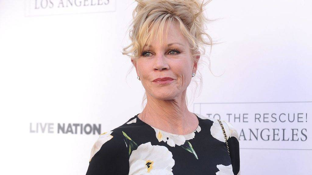 HOLLYWOOD, CA - APRIL 22:  Actress Melanie Griffith attends Humane Society of The United States' annual To The Rescue! Los Angeles benefit at Paramount Studios on April 22, 2017 in Hollywood, California.  (Photo by Jason LaVeris/FilmMagic)