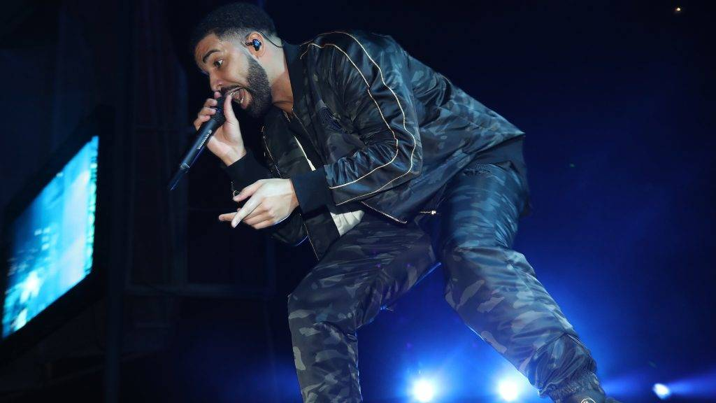 TORONTO, ON - AUGUST 07:  Drake Performs at OVO Fest In Toronto For Caribana 2017 on August 7, 2017 in Toronto, Canada.  (Photo by Johnny Nunez/Getty Images for Remy Martin)