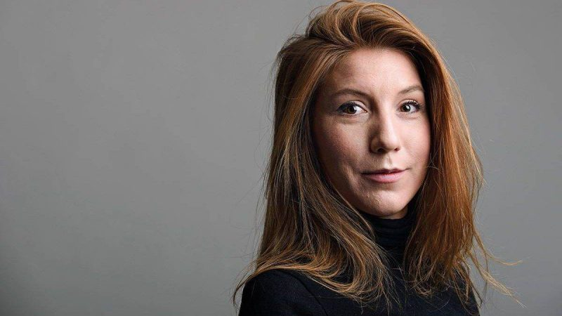 """A handout photo released on August 12, 2017 shows Swedish journalist Kim Wall who was allegedly on board a submarine south of Copenhagen before it sank on August 11, 2017. / AFP PHOTO / TT News Agency AND Tom WALL / Handout / RESTRICTED TO EDITORIAL USE - MANDATORY CREDIT """"AFP PHOTO /TOM WALL / HANDOUT"""" - NO MARKETING NO ADVERTISING CAMPAIGNS - DISTRIBUTED AS A SERVICE TO CLIENTS == NO ARCHIVE"""