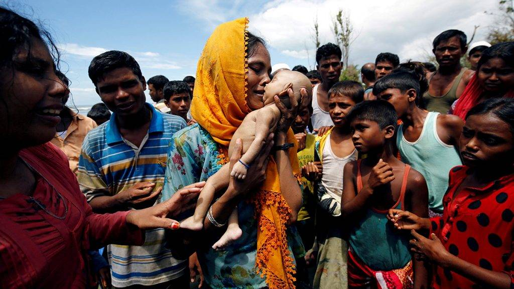 "ATTENTION EDITORS - VISUAL COVERAGE OF SCENES OF INJURY OR DEATH Hamida, a Rohingya refugee woman, cries as she holds her 40-day-old son, who died as a boat capsized in the shore of Shah Porir Dwip, in Teknaf, Bangladesh, September 14, 2017. REUTERS/Mohammad Ponir Hossain/File photo         SEARCH ""ROHINGYA CAPSIZED"" FOR THIS STORY. SEARCH ""WIDER IMAGE"" FOR ALL STORIES.  TEMPLATE OUT   TPX IMAGES OF THE DAY"