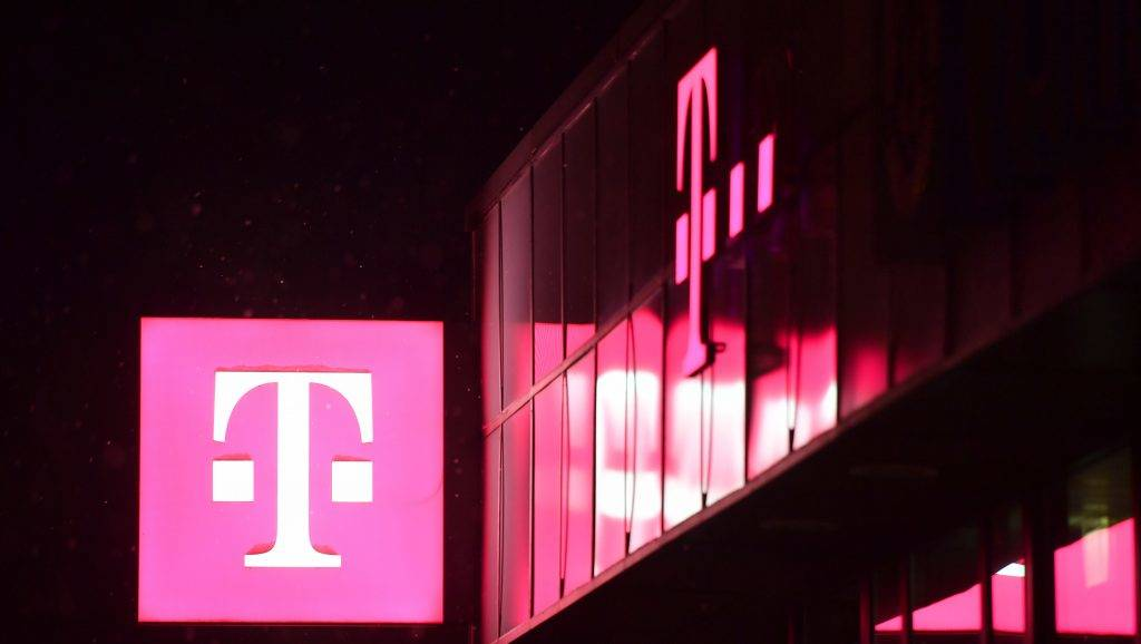 The logo of Deutsche Telekom in January 2017 | usage worldwide