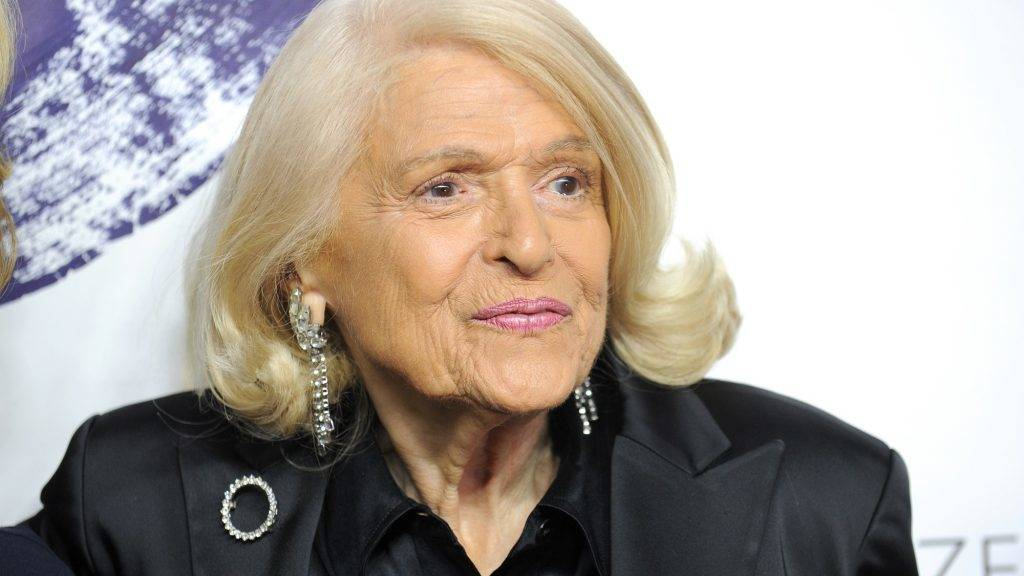 """NEW YORK, NY - JUNE 23: Edie Windsor attends Logo TV's """"Trailblazers"""" at the Cathedral of St. John the Divine on June 23, 2014 in New York City.   Bryan Bedder/Getty Images for Logo TV/AFP"""