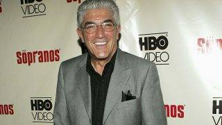 """NEW YORK - JUNE 06:  Actor Frank Vincent attends """"The Sopranos: The Complete Fifth Season"""" DVD launch party at 'English is Italian' on June 6, 2005 in New York City.  (Photo by Paul Hawthorne/Getty Images) *** Local Caption *** Frank Vincent"""