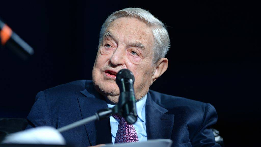 NEW YORK, NY - SEPTEMBER 20: Founder and Chair, Soros Fund Management and the Open Society Foundations George Soros attends 2016 Concordia Summit - Day 2 at Grand Hyatt New York on September 20, 2016 in New York City.   Riccardo Savi/Getty Images for Concordia Summit/AFP