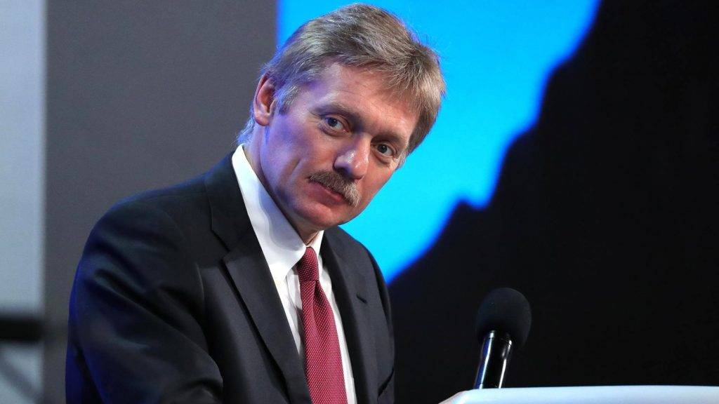 MOSCOW, RUSSIA - DECEMBER 23: Russian Presidential Spokesman Dmitry Peskov attends an annual news conference held by Russia's President Vladimir Putin, at Moscow's World Trade Centre, in Moscow, Russia, on December 23, 2016.   Russian Presidential Press and Information Office / Anadolu Agency
