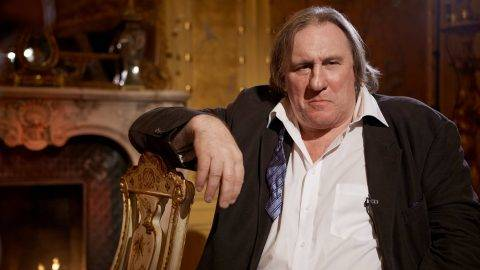 MOSCOW, RUSSIA - NOVEMBER 25: Actor Gerard Depardieu during a  TV Interview on November 25, 2012 in Moscow, Russia (Photo Oleg Nikishin/Epsilon/Getty Images)