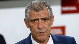 BUDAPEST, HUNGARY - SEPTEMBER 3: Head coach Fernando Santos of Portugal waits for the kick-off prior to the FIFA 2018 World Cup Qualifier match between Hungary and Portugal at Groupama Arena on September 3, 2017 in Budapest, Hungary. (Photo by Laszlo Szirtesi/Getty Images)
