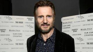 TORONTO, ON - SEPTEMBER 09: Liam Neeson attends the Sony Pictures Classics TIFF Celebration Dinner 2017 at Morton's on September 9, 2017 in Toronto, Canada.   Emma McIntyre/Getty Images for Sony Pictures Classics/AFP