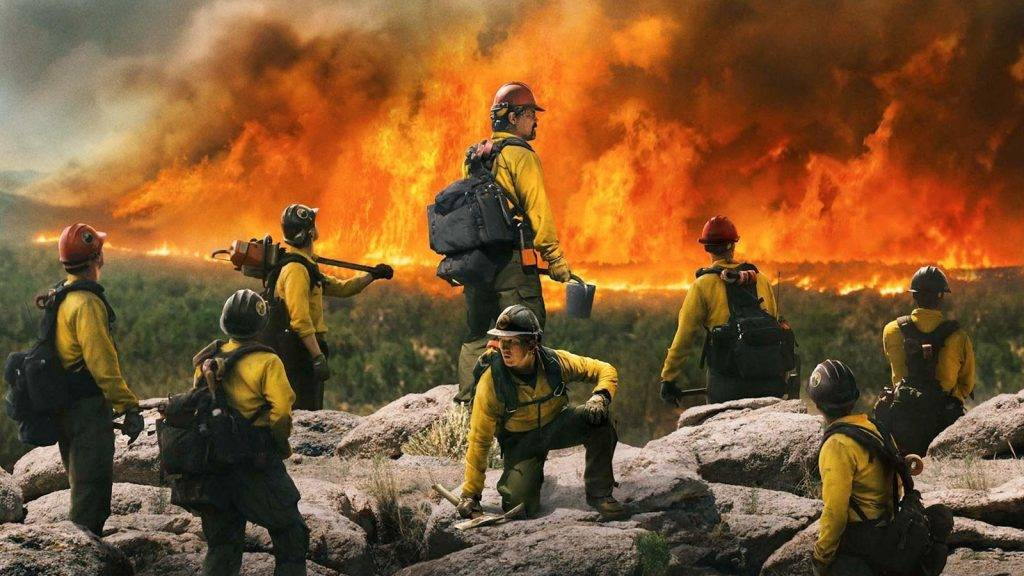 ONLY THE BRAVE (2017) Movie Poster CR: Columbia Pictures