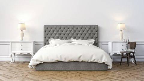 3d beautiful bedroom interior render