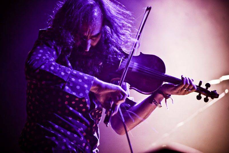 Warren Ellis from Dirty Three perform in Barcelona at Primavera Sound