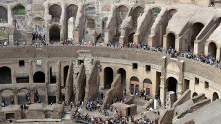 A Colosseum legfelső szintjeinek megnyitása