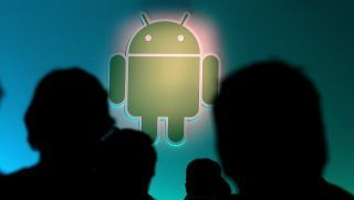 MOUNTAIN VIEW, CA - FEBRUARY 02: The Android logo is displayed during a press event at Google headquarters on February 2, 2011 in Mountain View, California. Google unveiled its Android Honeycomb operating system, the first Android operating system designed specifically for tablets.   Justin Sullivan/Getty Images/AFP