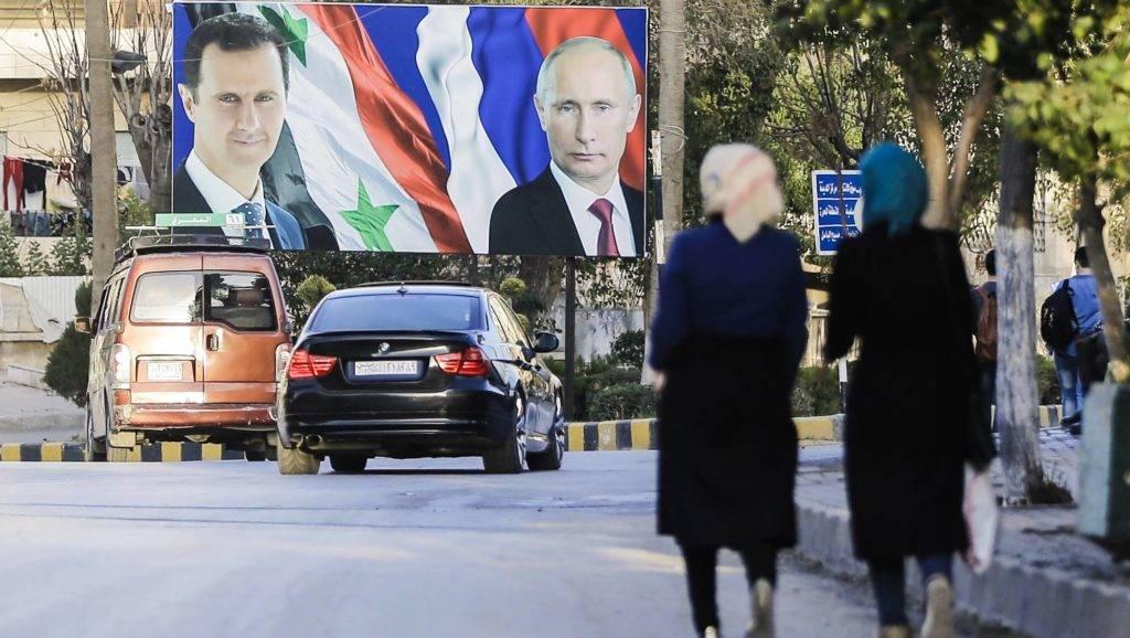 Putyin a szíriai elnökkel tárgyalt