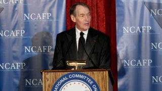 NEW YORK, NY - OCTOBER 30: Charlie Rose hosts the National Committee On American Foreign Policy 2017 Gala Awards Dinner on October 30, 2017 in New York City.   Mike Coppola/Getty Images for National Committee on American Foreign Policy /AFP