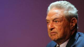 NEW YORK - AUGUST 19: George Soros, founder and chairman of the Open Society Institute and a billionaire investor, attends a forum addressing the global response to the flood in Pakistan at the Asia Society August 19, 2010 in New York City. The devastating flood, one of the worst in Pakistan's history, has affected about one-fifth of Pakistan's territory and left over 4 million homeless.   Spencer Platt/Getty Images/AFP
