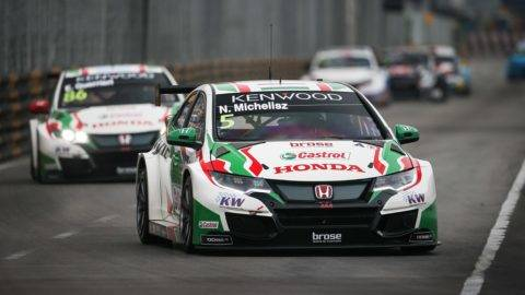 05 MICHELISZ Norbert (HUN), Castrol Honda WTC Team, Honda Civic WTCC, Action during the 2017 FIA WTCC World Touring Car Championship race at Guia International Circuit from november 17 to 19, Macau - Photo Antonin Vincent / DPPI