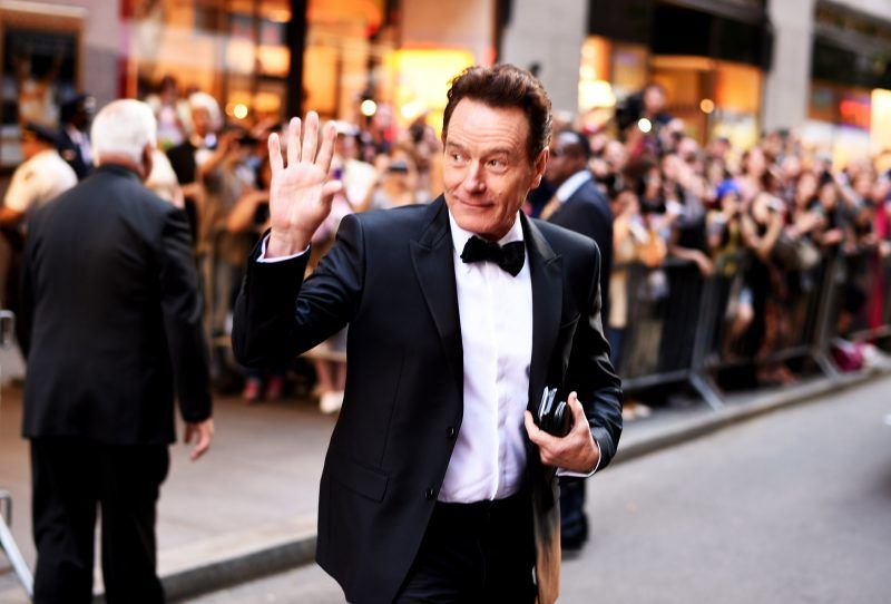 NEW YORK, NY - JUNE 07:  (EDITORS NOTE: Image has been processed using digital filters.) Actor Bryan Cranston attends the 2015 Tony Awards at Radio City Music Hall on June 7, 2015 in New York City.  (Photo by Andrew H. Walker/Getty Images for Tony Awards Productions)