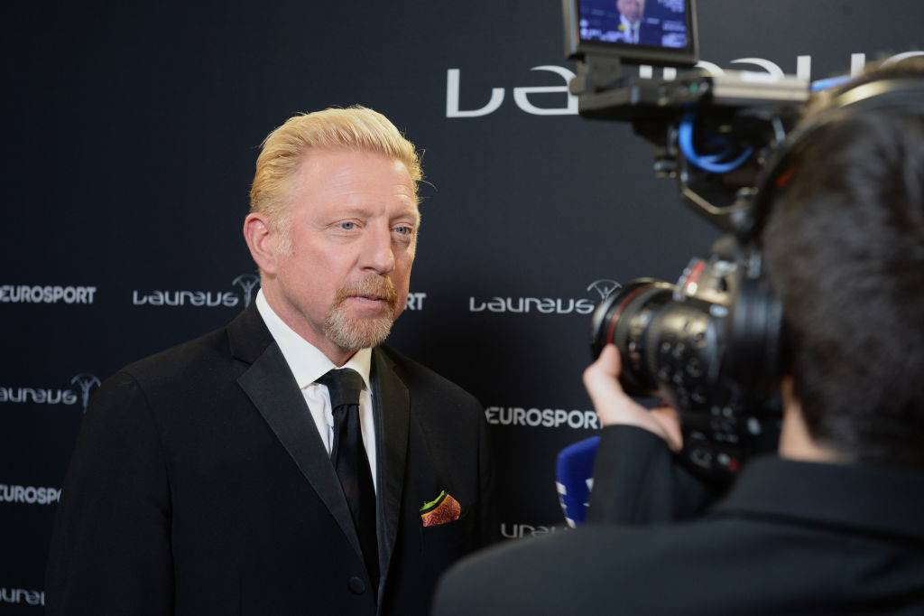 MONACO - FEBRUARY 14:  Laureus Academy member Boris Becker attends the 2017 Laureus World Sports Awards at the Salle des Etoiles,Sporting Monte Carlo on February 14, 2017 in Monaco, Monaco.  (Photo by Christian Alminana/Getty Images for Laureus)