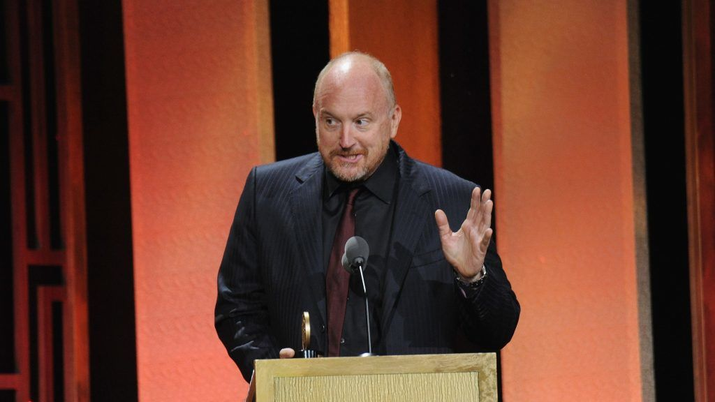 NEW YORK, NY - MAY 20:  Horace and Pete Executive Producer Louis CK speaks on stage during The 76th Annual Peabody Awards Ceremony at Cipriani, Wall Street on May 20, 2017 in New York City.  (Photo by Brad Barket/Getty Images for Peabody)