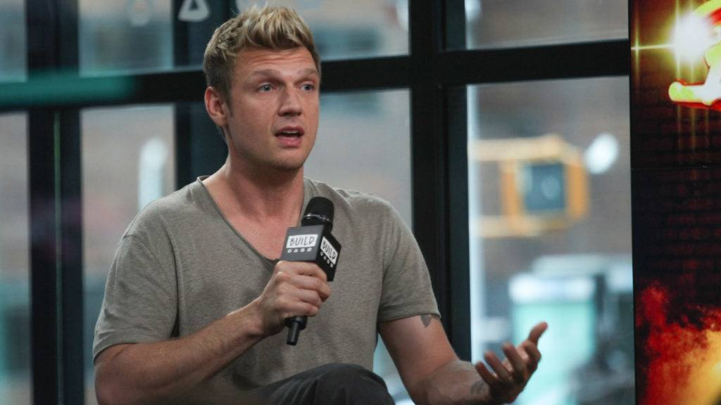 """NEW YORK, NY - JUNE 26:  Singer/songwriter Nick Carter attends Build Series to disucss his new show """"Boy Band"""" at Build Studio on June 26, 2017 in New York City.  (Photo by Steve Zak Photography/FilmMagic)"""