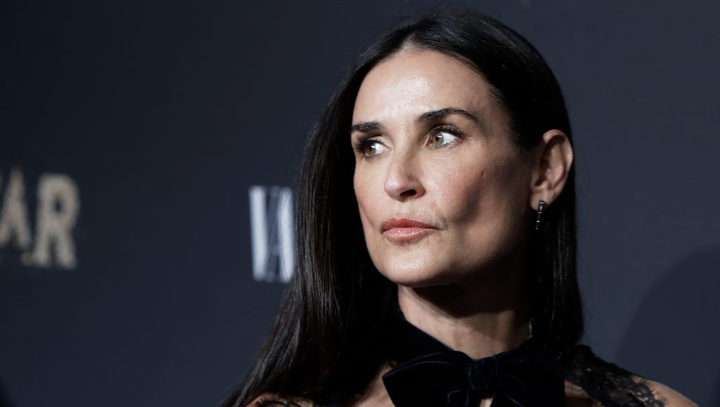 "NEW YORK, NY - SEPTEMBER 23:  Demi Moore attends ""Empire"" and ""Star"" celebrate FOX's new Wednesday night at One World Observatory on September 23, 2017 in New York City.  (Photo by John Lamparski/Getty Images)"