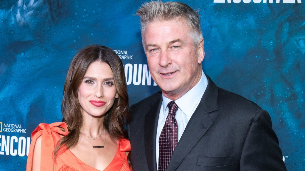 NEW YORK, NY - OCTOBER 04:  Hilaria Baldwin and Alec Baldwin attend the National Geographic Encounter Blue Carpet VIP Preview Celebration on October 4, 2017 in New York City.  (Photo by Mike Pont/WireImage)