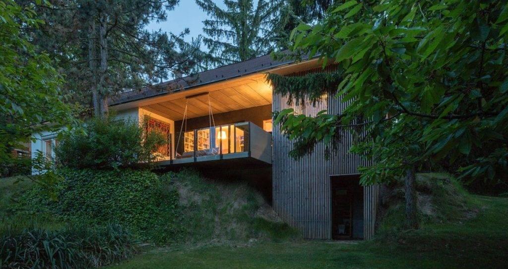 Saját tervezésű piliscsabai ház lett az idei médiadíjas