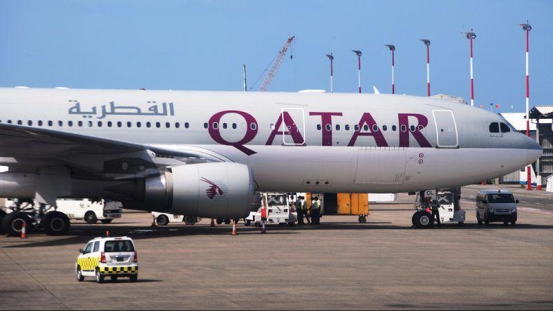 3165903 07/13/2017 A Qatar Airways aircraft at Male Airport (Maldives). Natalia Seliverstova/Sputnik