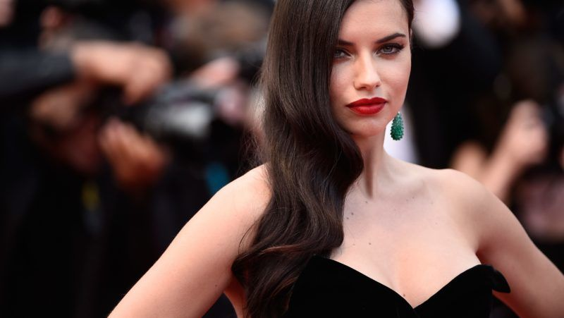 """CANNES, FRANCE - MAY 19:  Adriana Lima  attends the Premiere of """"Sicario"""" during the 68th annual Cannes Film Festival on May 19, 2015 in Cannes, France.  (Photo by Ian Gavan/Getty Images)"""