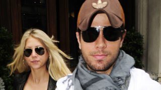 ©2009 RAMEY PHOTO /XPOSURE 07.JUNE.2009 - LONDON - UK ENRIQUE IGLESIAS AND ANNA KOURNIKOVA SEEN LEAVING ZUMA AFTER A NIGHT OUT WITH FAMILY! ADXLSDNR/XP (Photo by Philip Ramey/Corbis via Getty Images)