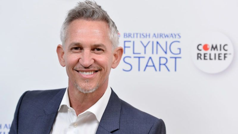 WATFORD, ENGLAND - APRIL 07:  Gary Lineker attends British Airways' Flying Start Ball at The Grove on April 7, 2017 in Hertfordshire, United Kingdom. The event has raised nearly a quarter of a million pounds for the airline's charity partnership with Comic Relief.  (Photo by Jeff Spicer/Getty Images for British Airways)