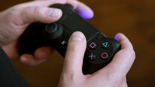 A Sony Playstation 4 Pro is tested with a controller during a PS4 Pro premiere event in Berlin,Germany, 08 November 2016. The teams from Sony Interactive Entertainment Deutschland, Sony Electronics, and ToLL Relations presented the new hardware in Berlin. Photo:RAINERJENSEN/dpa