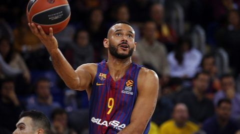 Adam Hanga during the match between FC Barcelona v Fenerbahce corresponding to the week 11 of the basketball Euroleague, in Barcelona, on December 08, 2017. (Photo by Urbanandsport/NurPhoto)