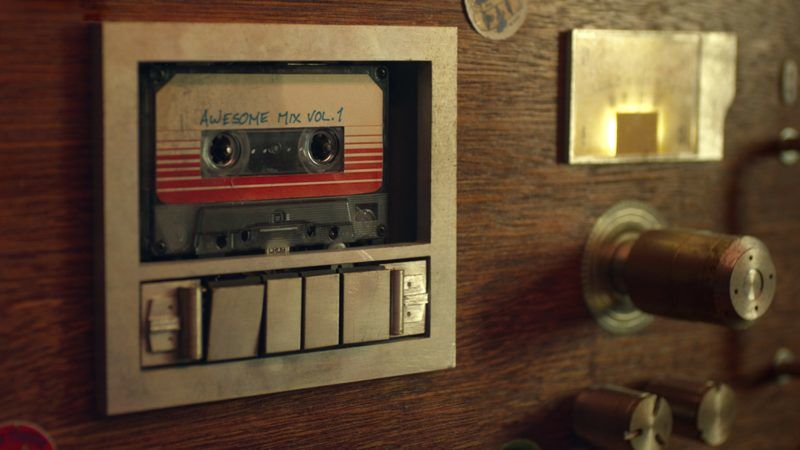 Marvel's Guardians Of The Galaxy..Awesome Mix Vol. 1..Ph: Film Frame..?Marvel 2014