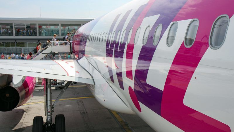 Netherlands: Wizz Air operated Airbus A320-232 at Eindhoven Airport.