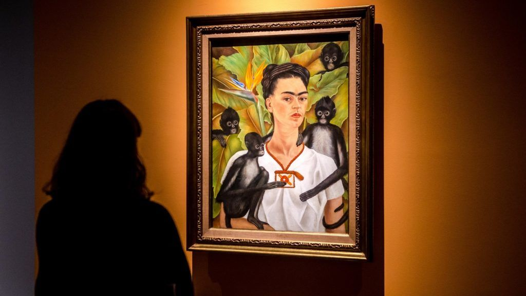 """First day of Frida Kahlo """"Beyond the Myth"""" exhibition at Mudec, Milano, Italy, on 01 February 2018. (Photo by Mairo Cinquetti/NurPhoto)"""