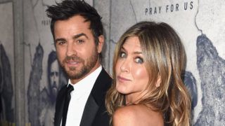 """LOS ANGELES, CA - APRIL 04:  Actors Justin Theroux and Jennifer Aniston attend the premiere of HBO's """"The Leftovers"""" Season 3 at Avalon Hollywood on April 4, 2017 in Los Angeles, California.  (Photo by Kevin Winter/Getty Images)"""