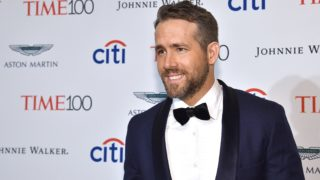 NEW YORK, NY - APRIL 25:  Ryan Reynolds attends 2017 Time 100 Gala at Jazz at Lincoln Center on April 25, 2017 in New York City.  (Photo by Kevin Mazur/Getty Images for TIME)