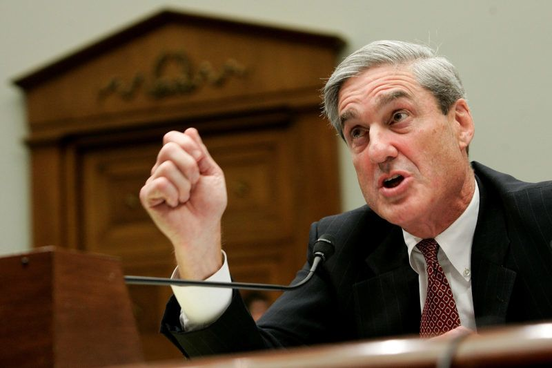 WASHINGTON - JULY 26:  FBI Director Robert Mueller testifies during a hearing before the House Judiciary Committee July 26, 2007 on Capitol Hill in Washington, DC. The hearing was held to examine whether the FBI have misused their power.  (Photo by Alex Wong/Getty Images)