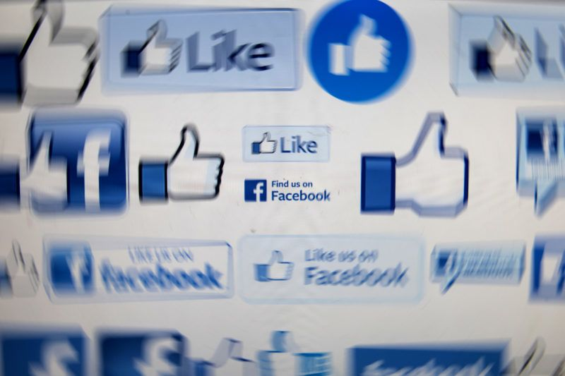 A computer screen displays logos associated with the social networking site Facebook, taken in Manchester, England on March 22, 2018.A public apology by Facebook chief Mark Zuckerberg failed Thursday to quell outrage over the hijacking of personal data from millions of people, as critics demanded the social media giant go much further to protect privacy. / AFP PHOTO / OLI SCARFF