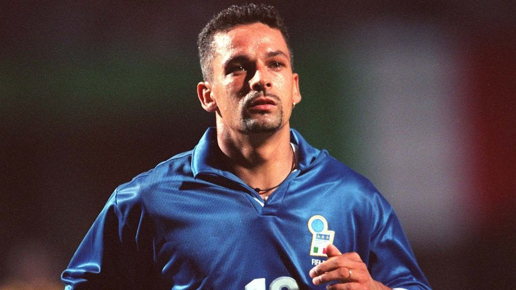 Roberto BAGGIO, Italy at the 1998 FIFA World Cup in France.