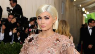 """NEW YORK, NY - MAY 01:  Kylie Jenner attends the """"Rei Kawakubo/Comme des Garcons: Art Of The In-Between"""" Costume Institute Gala at Metropolitan Museum of Art on May 1, 2017 in New York City.  (Photo by Neilson Barnard/Getty Images)"""