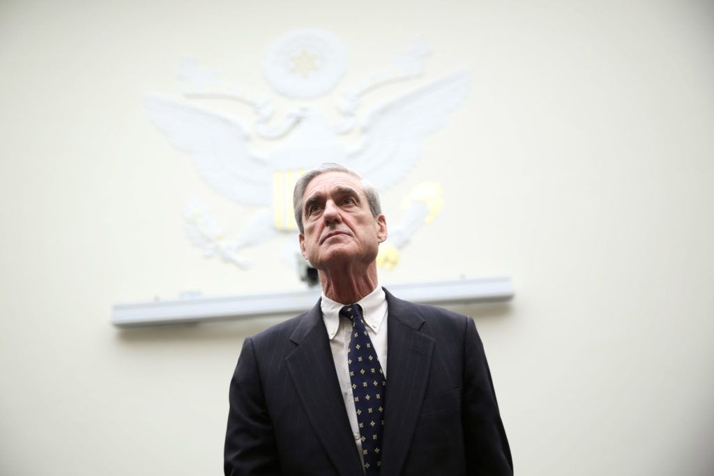 WASHINGTON, DC - JUNE 13:  Federal Bureau of Investigation Director Robert Mueller arrives at a hearing before the House Judiciary Committee June 13, 2013 on Capitol Hill in Washington, DC. Mueller testified on the oversight of the FBI.  (Photo by Alex Wong/Getty Images)