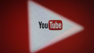 The YouTube logo is seen in this photo illustration on December 1, 2017. (Photo by Jaap Arriens/NurPhoto)