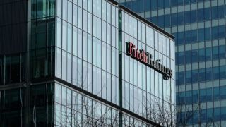 The building of Fitch Ratings at the office building complex at Canary Wharf on the Isle of Dogs at the district Tower Hamlets in London, England, 17 March 2017. Photo: Jens Kalaene/dpa-Zentralbild/ZB
