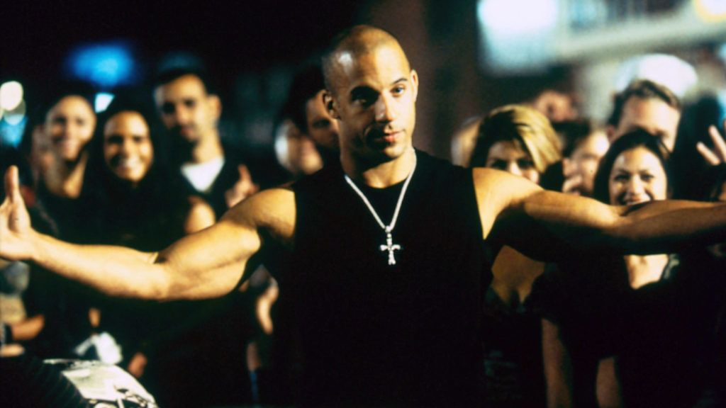 Fast and Furious 2001 real Rob Cohen VIn DIesel. COLLECTION CHRISTOPHEL ©   Universal Pictures
